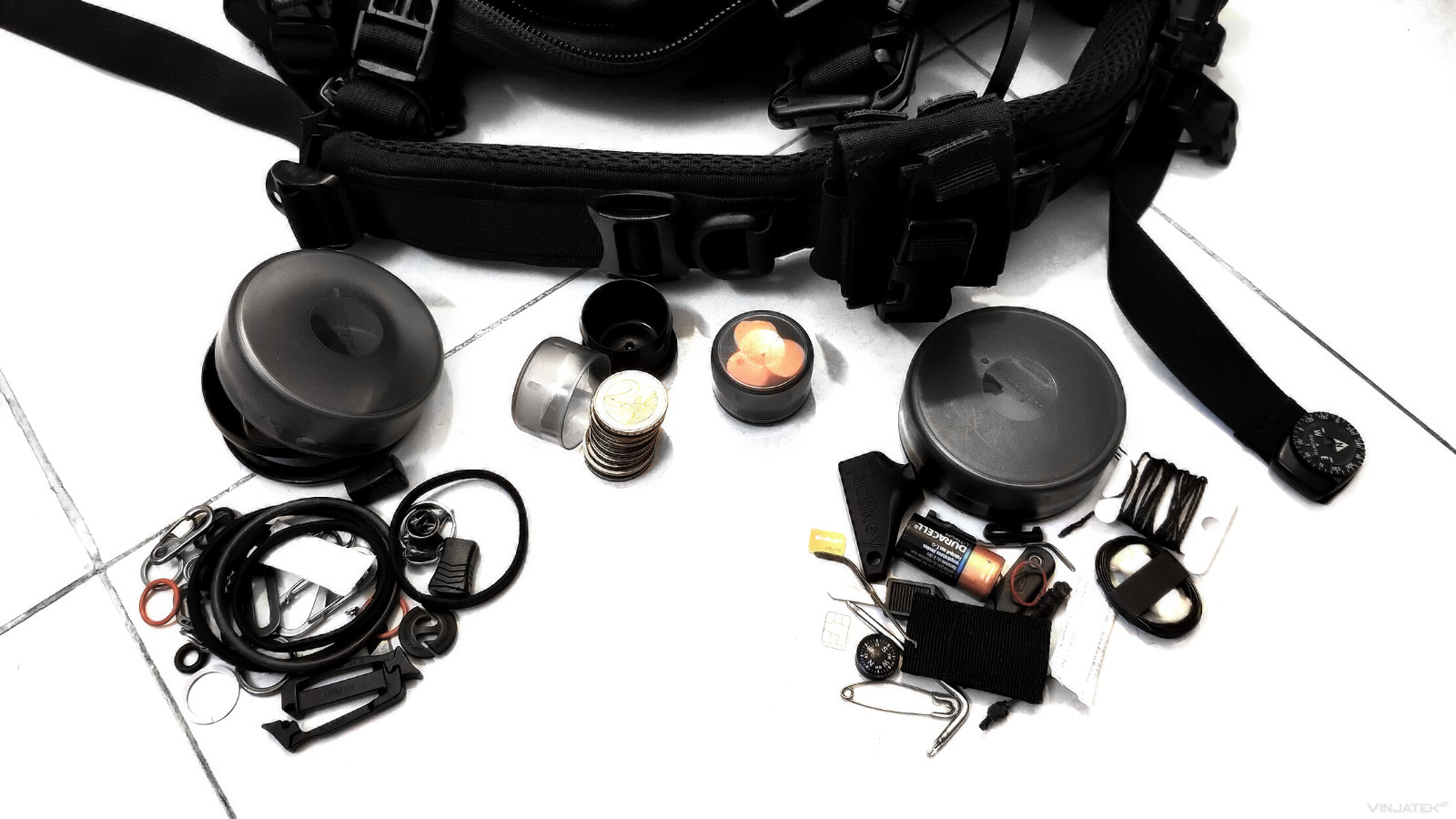 How to Live Out of a Backpack: Parts, Bits and Pieces /// Vinjatek