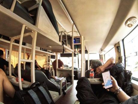 Mobile Urban Survival Guide via Southeast Asia Sleeper Bus Ride in Cambodia, Vietnam, Thailand, Laos /// Vinjatek