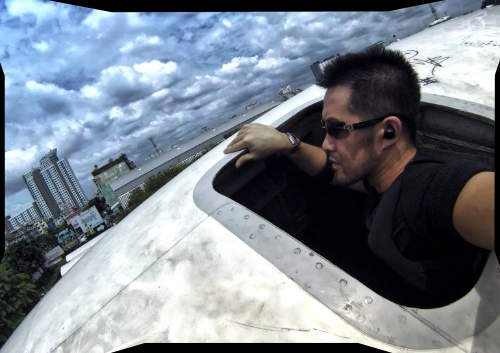 Covert Operative Vagabonding Method /// Airplane Graveyard at Bangkok, Thailand /// Vinjatek