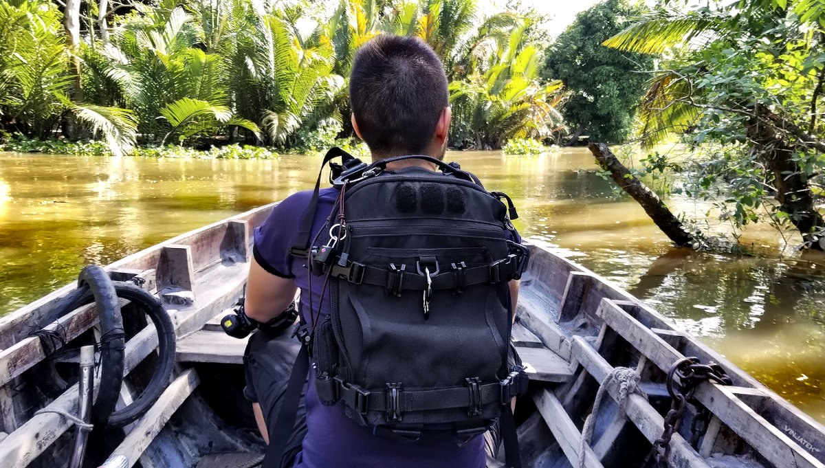 FAST Pack Scout at the Mekong Delta in Vietnam /// Vinjatek