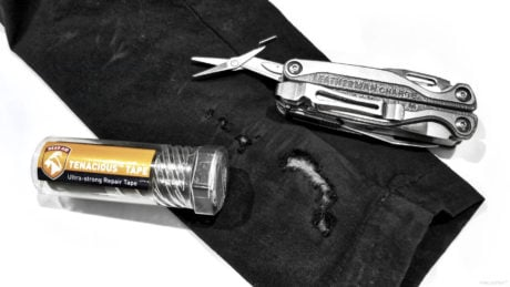 Gear Tactics: Quickly Fix a Tear in Clothes Without Sewing, in The Field: Items