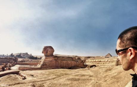 The Great Sphinx of Giza /// Vinjatek