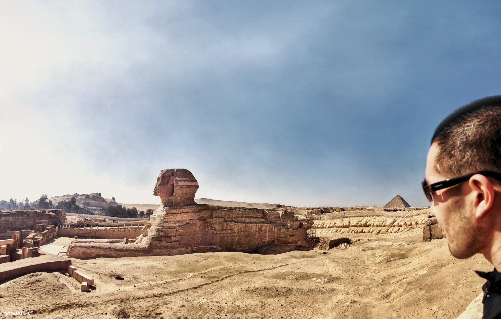 The Great Sphinx of Giza /// Vinjatek
