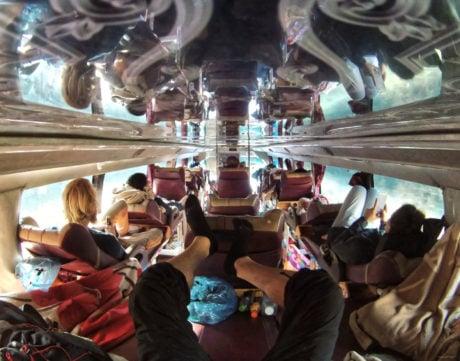 Riding a 24 Hour Sleeper Bus From Vietnam to Laos /// Vinjatek