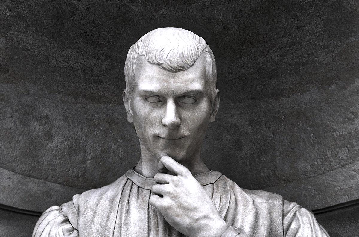 Niccolò Machiavelli Portrait /// Vinjatek