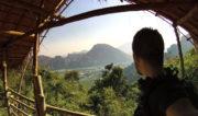 Hiking Vang Vieng Mountain in Laos /// Vinjatek