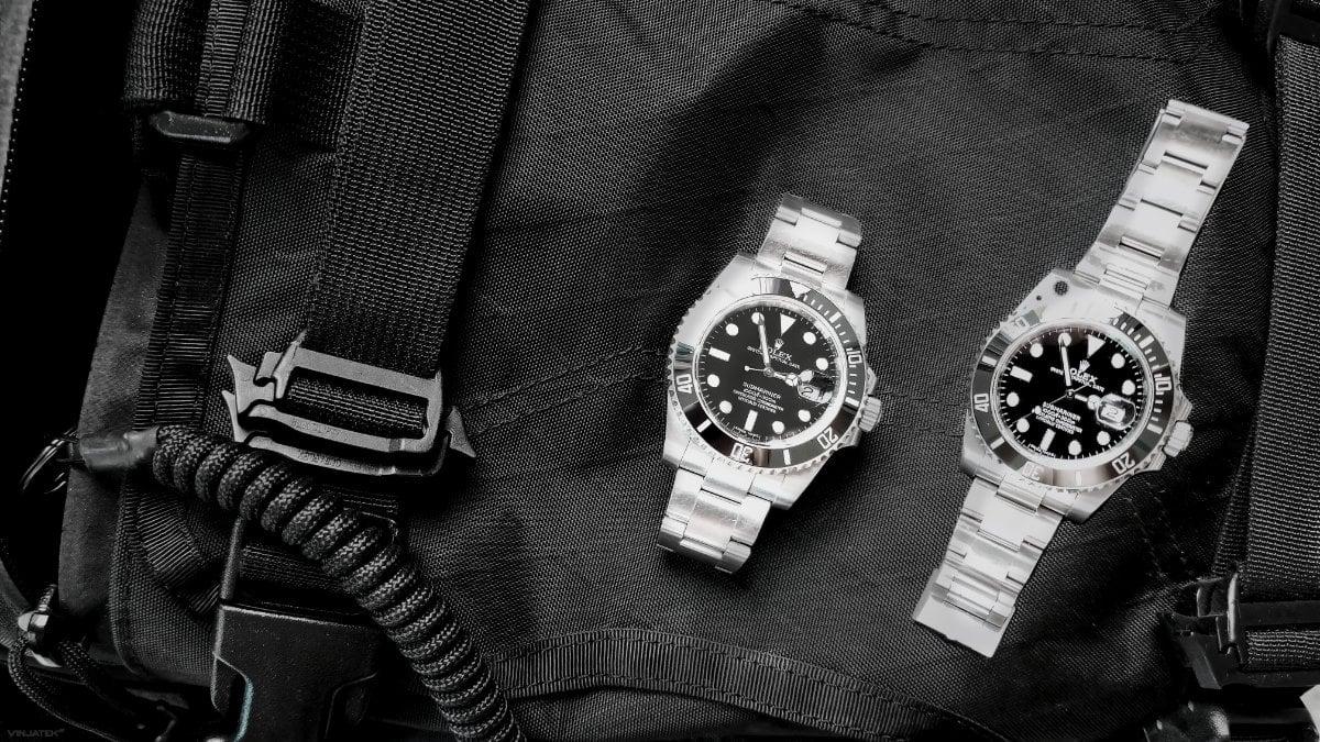 Fake Rolex Submariner vs Real Rolex Submariner /// Vinjatek
