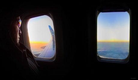 Clandestine Travel /// John Cain on a Jet /// Vinjatek