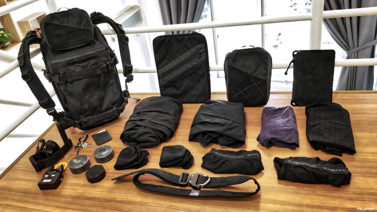 5 Days in Kuala Lumpur: Loadout with FAST Pack Scout /// Vinjatek