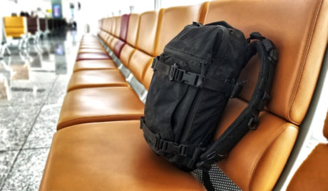 Triple Aught Design FAST Pack Scout Prototype at Noi Bai Airport in Vietnam /// Vinjatek