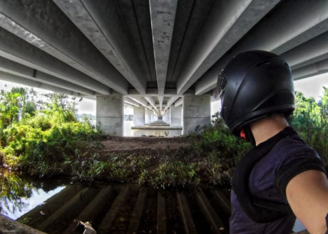 Urban Survival Skills Exploration Under a Bridge in Danang, Vietnam /// Vinjatek URBEX