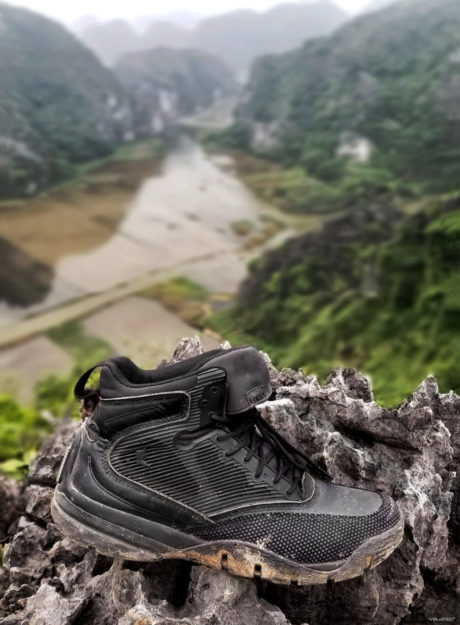 LALO Shadow Amphibian Boots at Ninh Binh, Vietnam /// Vinjatek