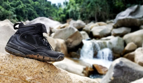 LALO Shadow Amphibian Boots in a Jungle in Vietnam /// Vinjatek