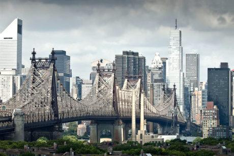 Queensboro Bridge, New York City /// Vinjatek