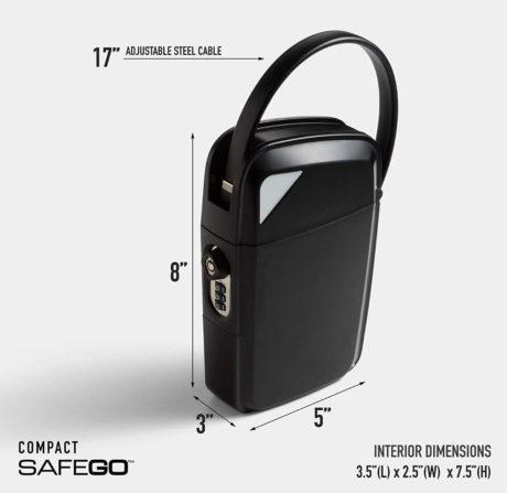 Compact Safego: Portable Safe /// The Gear List
