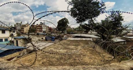 Barbed Wire Security Facility in Kathmandu, Nepal /// Vinjatek
