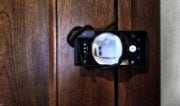 Improvised Door Peephole Smartphone Security System /// Vinjatek
