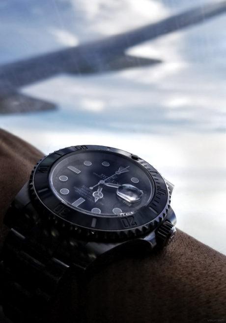 Rolex Submariner Watch on a Flight /// Vinjatek