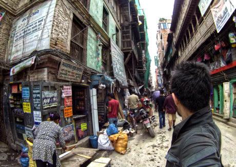 Kathmandu Street Bodega in Nepal /// Vinjatek
