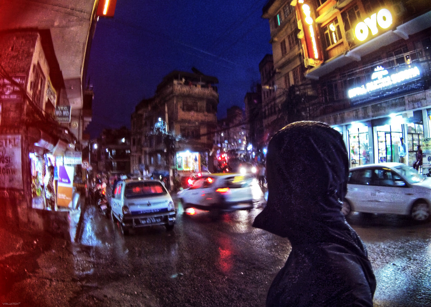 Chaos in The Streets of Kathmandu, Nepal /// Vinjatek