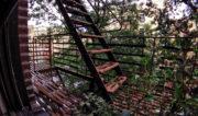 "Condemned Bronx Apartment Fire Escape ""Balcony"" in New York /// Vinjatek"