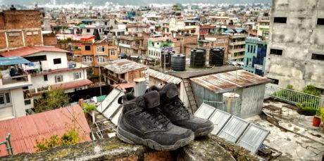 LALO Shadow Amphibian Boots in Kathmandu, Nepal /// Vinjatek