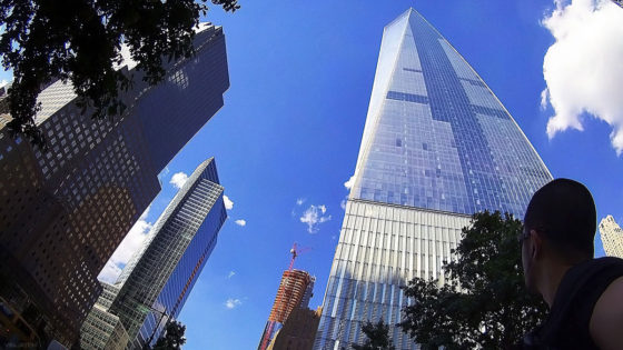 The Freedom Tower in New York, USA /// Vinjatek