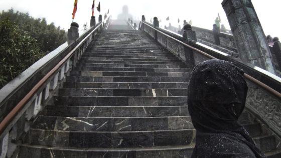 Amitabha Buddha Statue on Fansipan Mountain, Vietnam /// Vinjatek