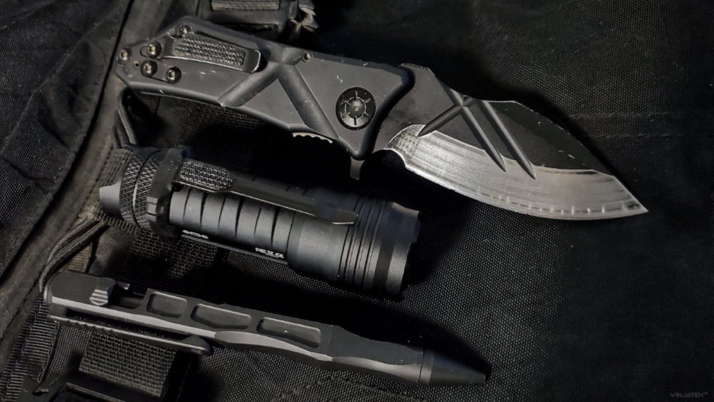 Tactical Write Light Slice EDC Kit /// Vinjatek