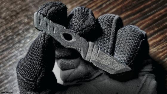 The Carbon Fiber Knife /// Vinjatek
