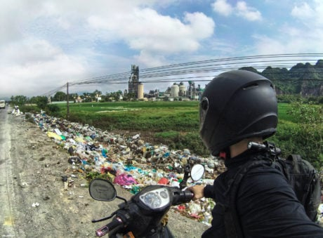 Chemical Plant, Rice Paddy and Waste Dump in Vietnam /// VInjatek