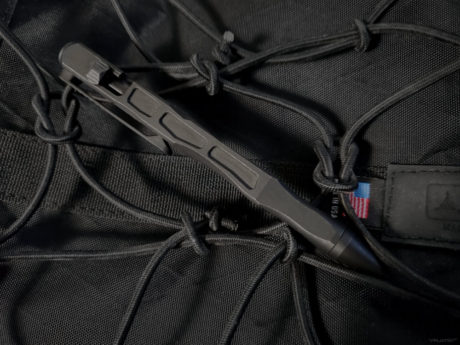 Write Light Slice Tactical EDC /// WE Knives TP-03C Titanium Tactical Pen /// Vinjatek