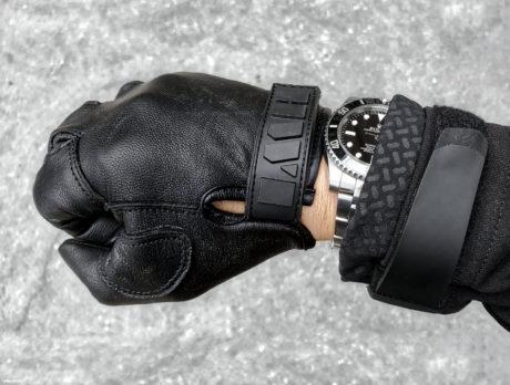 Wristgame: HWY Gloves, Rolex Watch, Vollebak Sweater and Triple Aught Design Jacket /// Vinjatek