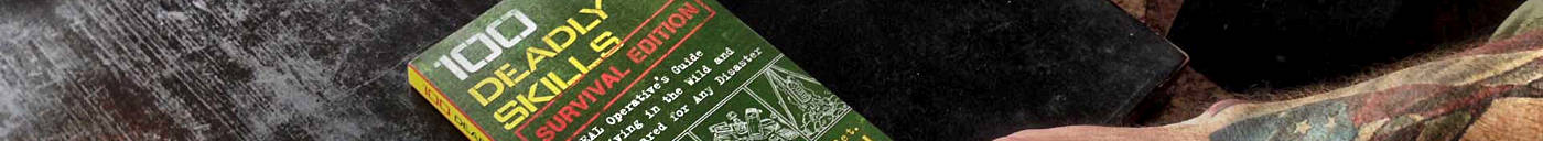 SPN /// 100 Deadly Skills Book